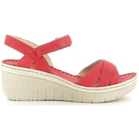 Chaussures Femme Sandales et Nu-pieds Walk & Fly 9038-30870 rouge