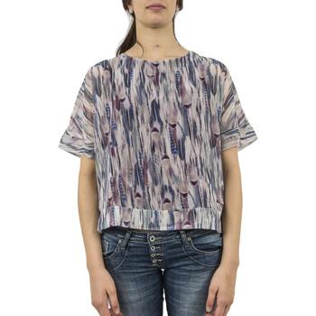Vêtements Femme T-shirts manches courtes Street One tee shirt  311250 violet violet