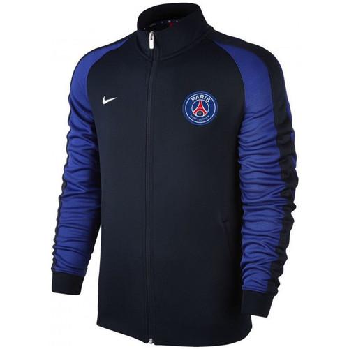 Vêtements Homme Vestes de survêtement Nike Veste de survêtement  PSG Authentic N98 - Ref. 810316-475 Bleu
