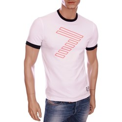 Vêtements Homme T-shirts manches courtes Armani Ea7 Short sleeve t-shirt White 273813 5A254  Man 8058345795466
