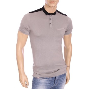 Vêtements Homme Polos manches courtes Armani Ea7 Short sleeves polo grey 273308 5A611  Man 8058345547454
