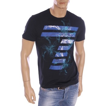 Vêtements Homme T-shirts manches courtes Armani Ea7 Short sleeve t-shirt Navy Blue 273915 6P677  Man 8051495133706
