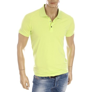 Vêtements Homme Polos manches courtes Armani Ea7 Short sleeves polo Lime green 277010 6P209  Man 8055352805331