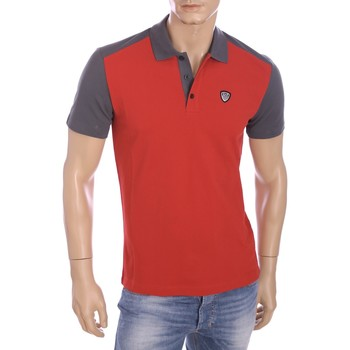 Vêtements Homme Polos manches courtes Armani Ea7 Short sleeves polo Red  273899 6P276  Man 8055352796561