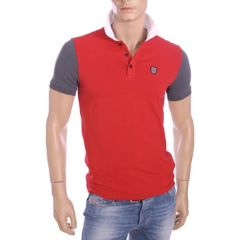 Vêtements Homme Polos manches courtes Armani Ea7 Short sleeves polo Red 273898 6P206  Man 8051495131535