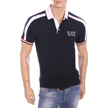Vêtements Homme Polos manches courtes Armani Ea7 Short sleeves polo Blue 273895 6P209  Man 8051495131252