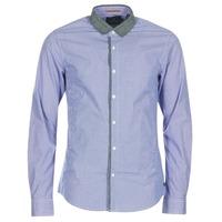 Vêtements Homme Chemises manches longues Scotch & Soda JILLA Bleu