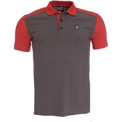Vêtements Homme Polos manches courtes Armani Ea7 Short sleeves polo grey 273899 6P276  Man 8051495131658