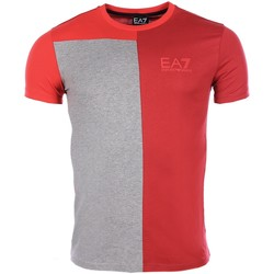 Vêtements Homme T-shirts manches courtes Armani Ea7 Short sleeve t-shirt Red 6XPT78 PJ02Z  Man 8056685964924