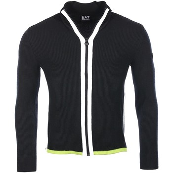 Vêtements Homme Gilets / Cardigans Armani Ea7 Jumpers Black 6XPEZ2 PM07Z   Man 8053320871005