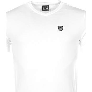 Vêtements Homme T-shirts manches courtes Armani Ea7 Short sleeve t-shirt White 3YPT94 PJ18Z  Man 8057019092283