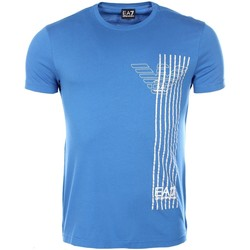 Vêtements Homme T-shirts manches courtes Armani Ea7 Short sleeve t-shirt Electric blue 3YPTE0 PJ30Z  Man 8058984929000
