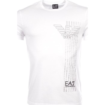 Vêtements Homme T-shirts manches courtes Armani Ea7 Short sleeve t-shirt White 3YPTE0 PJ30Z  Man 8058984711254