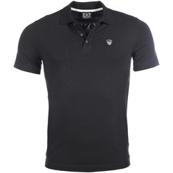 Vêtements Homme Polos manches courtes Armani Ea7 Short sleeves polo Black 3YPF80 PJ18Z  Man 8057019066949