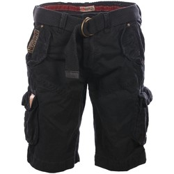 Vêtements Homme Shorts / Bermudas Geographical Norway Bermuda short Black Polish  Man 8438564482703