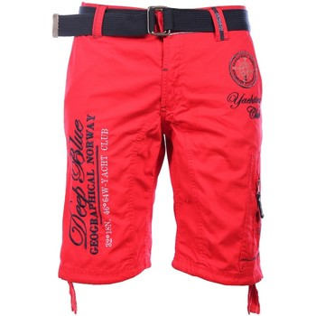 Vêtements Homme Shorts / Bermudas Geographical Norway Bermuda Red Pallancre  Man 8438564485049
