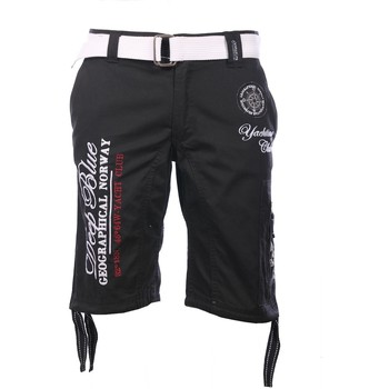 Vêtements Homme Shorts / Bermudas Geographical Norway Bermuda Black Pallancre  Man 8438564485124