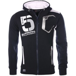 Vêtements Homme Gilets / Cardigans Geographical Norway Jumpers Navy Blue Goviar  Man 8438564488521