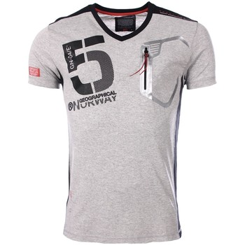 Vêtements Homme T-shirts manches courtes Marque: Geographical Norway, Sex Geographical Norway homme - T-shirt manches courtes  Geographica 8438564491804