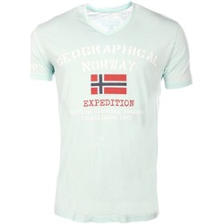 Vêtements Homme T-shirts manches courtes Marque: Geographical Norway, Sex Geographical Norway homme - T-shirt manches courtes  Geographica 8438564492764