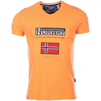 Vêtements Homme T-shirts manches courtes Marque: Geographical Norway, Sex Geographical Norway homme - T-shirt manches courtes  Geographica 8438564493945