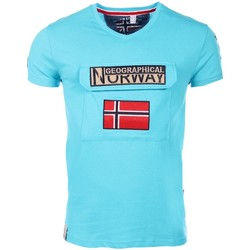 Vêtements Homme T-shirts manches courtes Marque: Geographical Norway, Sex Geographical Norway homme - T-shirt manches courtes  Geographica 8438564494027
