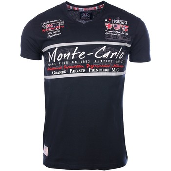 Vêtements Homme T-shirts manches courtes Geographical Norway Geographical Norway homme - T-shirt manches courtes  Geographica 8438564494324