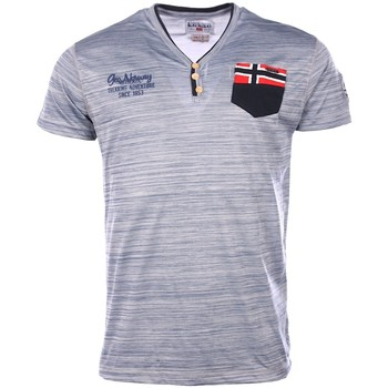 Vêtements Homme T-shirts manches courtes Geographical Norway Geographical Norway homme - T-shirt manches courtes  Geographica 8438564494980