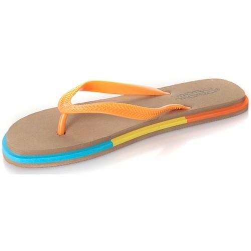 Chaussures Femme Tongs Mora Mora Tong Rumba Beige Beige