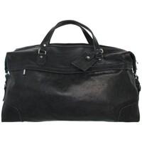 Sacs Homme Sacs de voyage Arthur & Aston sac de voyage Arthur et Aston en cuir ref_ast41102-d-noir noir