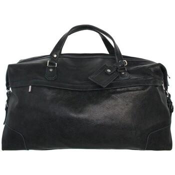 Sac de voyage arthur aston sac de voyage arthur et aston en cuir ref_ast41102-D-noir