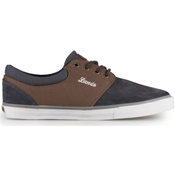 Chaussures Homme Baskets basses Lando Super Nice Gris-Marron