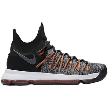 Chaussures Homme Baskets montantes Nike Zoom KD 9 Elite Noir-Gris-Orange