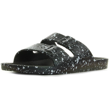 Chaussures Mules Moses Freedom Slippers Black Splatter noir
