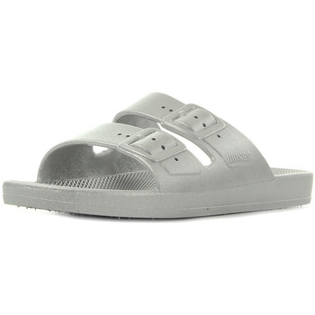 Chaussures Femme Sandales et Nu-pieds Moses Freedom Slippers Silverado argent