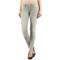 Vêtements Femme Jeans skinny Le Temps des Cerises Jean Slim Power3 Gris Gris