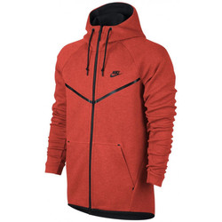 Vêtements Homme Sweats Nike Sweat  Tech Fleece Windrunner - Ref. 805144-852 Orange