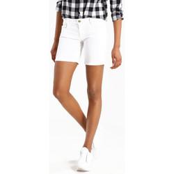Vêtements Femme Shorts / Bermudas Le Temps des Cerises Short Janka Blanc Blanc