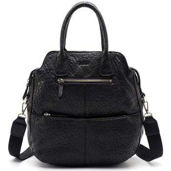 Sacs Femme Cabas / Sacs shopping Kate Lee Sac à main VELYA en cuir femme Noir