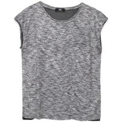 Vêtements Femme Débardeurs / T-shirts sans manche Le Temps des Cerises T-Shirt Femme en maille Rhodia Gris 35