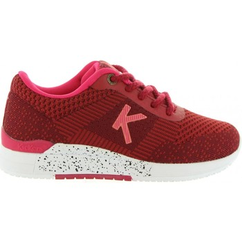 Chaussures Enfant Baskets basses Kickers 522010-30 KNITWEAR Rojo