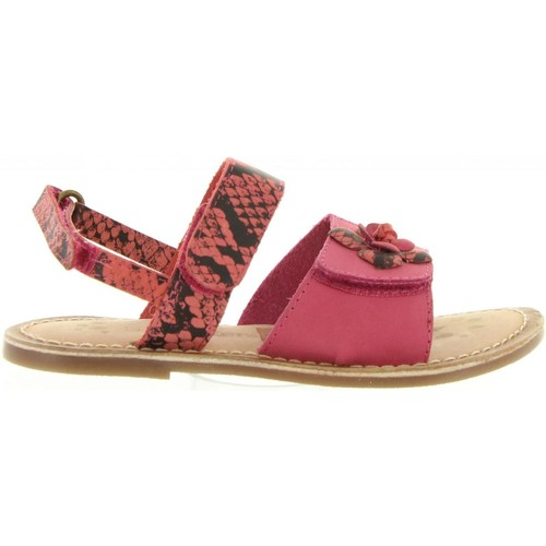 Chaussures Fille Sandales et Nu-pieds Kickers 469180-30 DITA Rosa