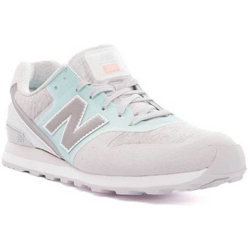 Chaussures Femme Baskets basses New Balance BASKET LEATHER BLEU/MULTICOLOR