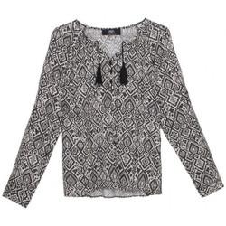 Vêtements Femme Tops / Blouses Le Temps des Cerises Blouse Charma Anthracite Gris
