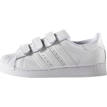 Chaussures Enfant Baskets basses adidas Originals Chaussure Superstar Foundation Blanc