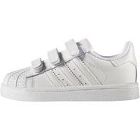 Chaussures Enfant Baskets basses adidas Originals Chaussure Superstar white