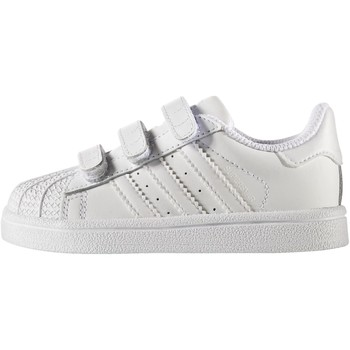 Chaussures Enfant Baskets basses adidas Originals Chaussure Superstar Blanc / Blanc / Blanc