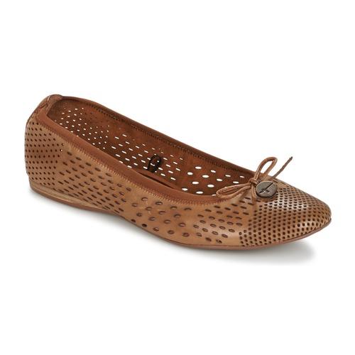 Chaussures Femme Ballerines / babies Tamaris  Marron