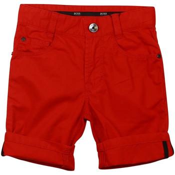 Vêtements Garçon Shorts / Bermudas HUGO Bermuda Hugo Boss Junior - Ref. J24433-988 Rouge