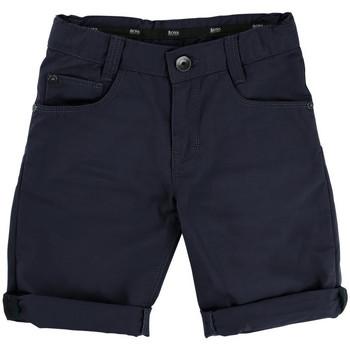 Vêtements Garçon Shorts / Bermudas HUGO Bermuda Hugo Boss Junior - Ref. J24433-849 Bleu